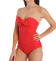 SPANX Bandeau Push Up One Piece Swimsuit 2694