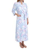 Carole Hochman Periwinkle Jubilee Long Robe 1851070
