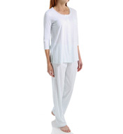 Carole Hochman Knit Long PJ Set 1891111