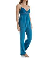 Josie by Natori Tile Lily Camisole Pajama Set with Keyhole B96005