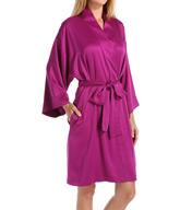 Natori Sleepwear Charmeuse Essentials Wrap V74038