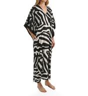 Natori Sleepwear Zebra Printed Caftan Z70173