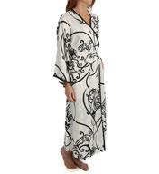 Natori Sleepwear Selis Printed Charmeuse Robe Z74174