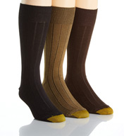 Gold Toe Hampton Moisture Control Crew Socks - 3 Pack 2054S