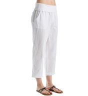 MSP by Miraclesuit Necessities Foldover Waistband Linen Capri 4089